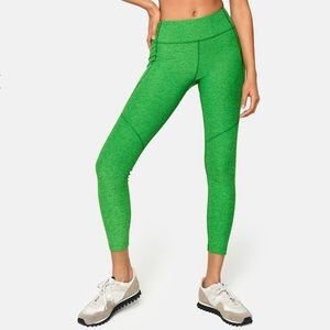 NEW Outdoor Voices 7/8 Warmup Leggings In Pine